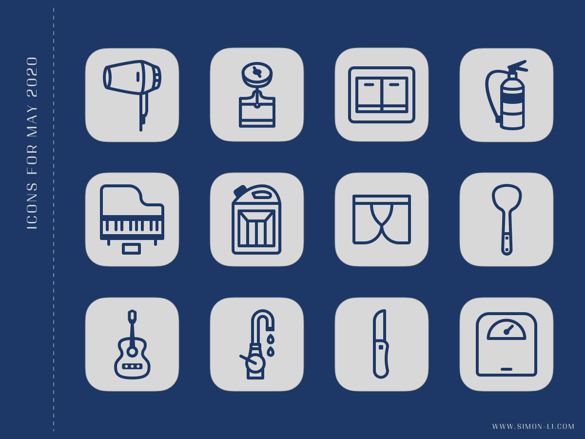 Icon Set (May 2020)