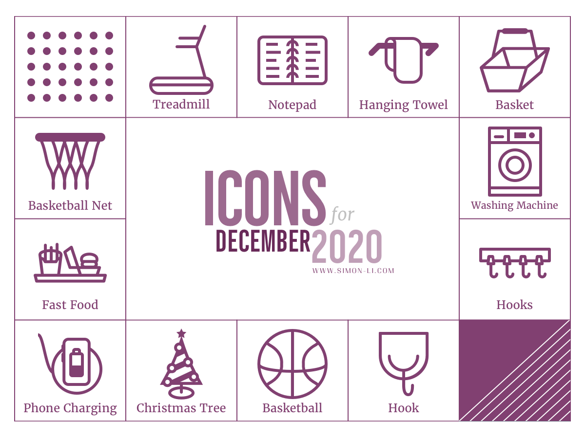 Free Icon Set (Dec 2020)