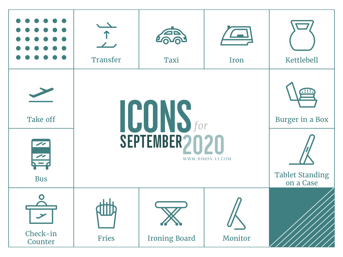 Free Icon Set (Sep 2020)