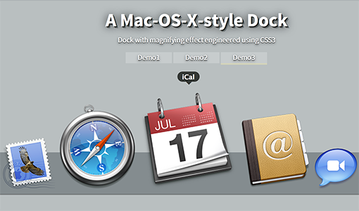 Recreating Dock in Mac OS X